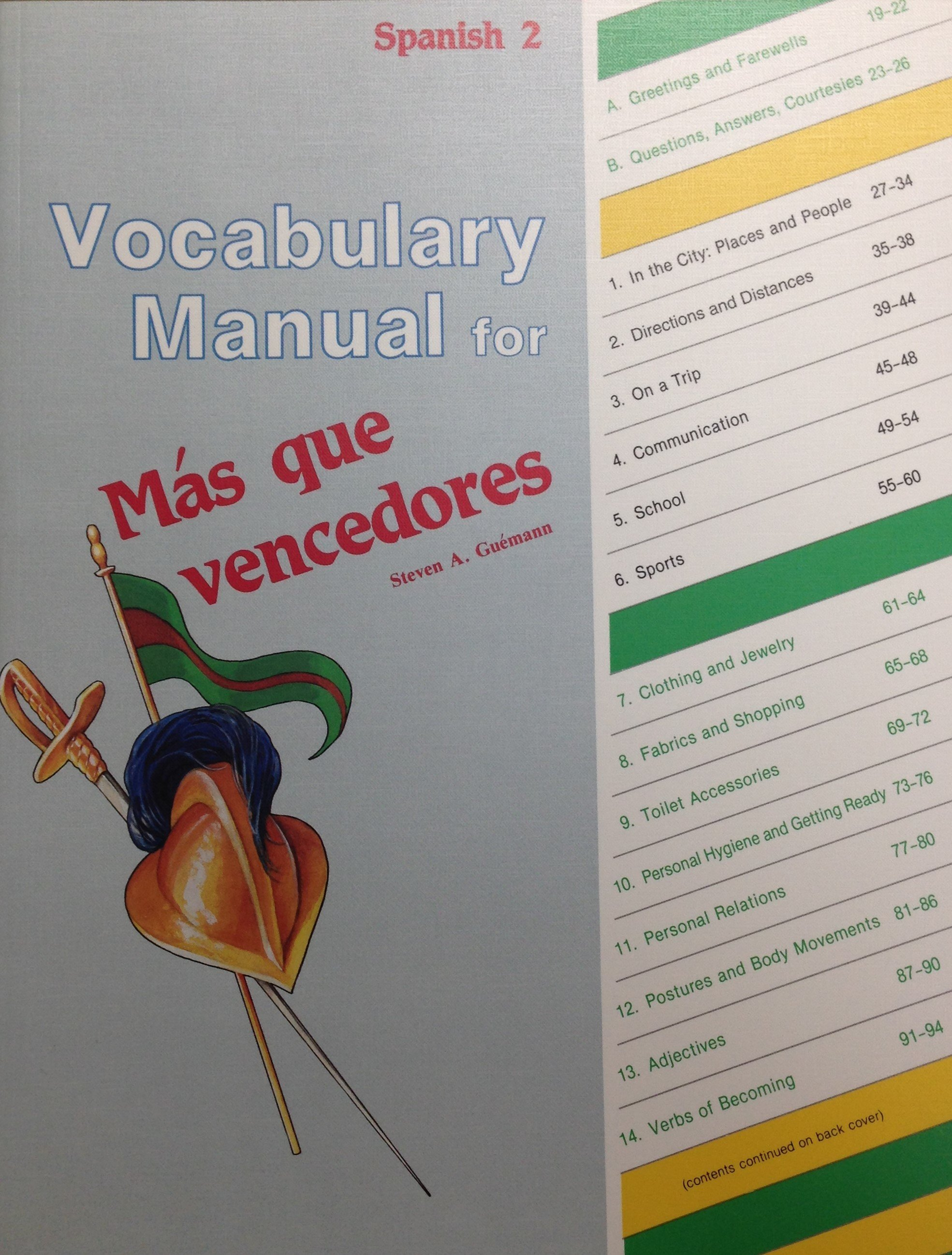 Vocabulary Manual