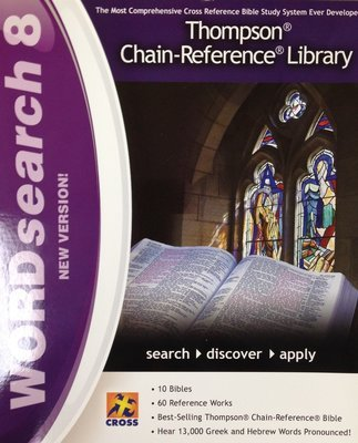 Wordsearch 8:  Thompson Chain-Reference Library CD-ROM