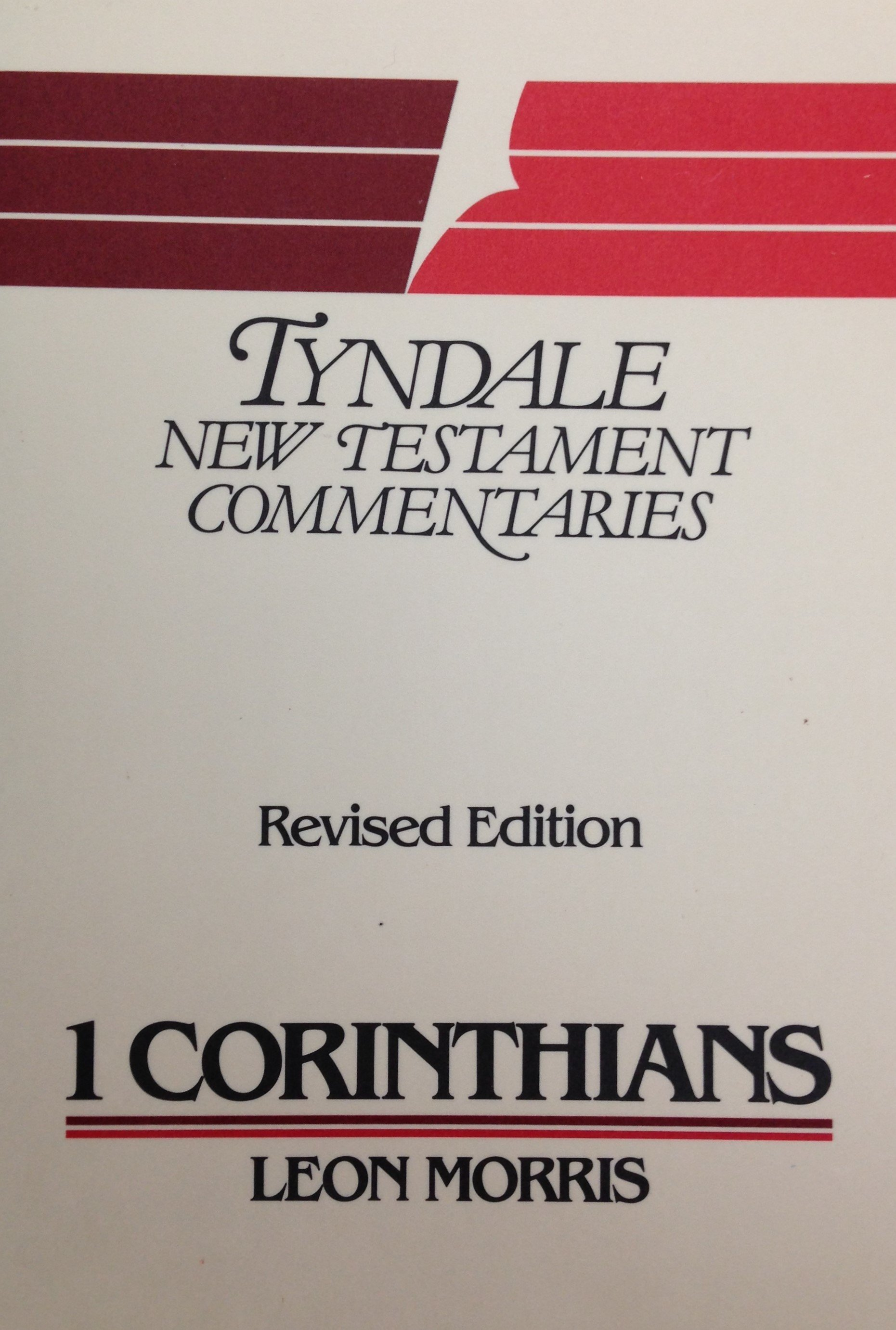Tyndale New Testament Commentaries: I Corinthians by Leon Morris (USED) 00086