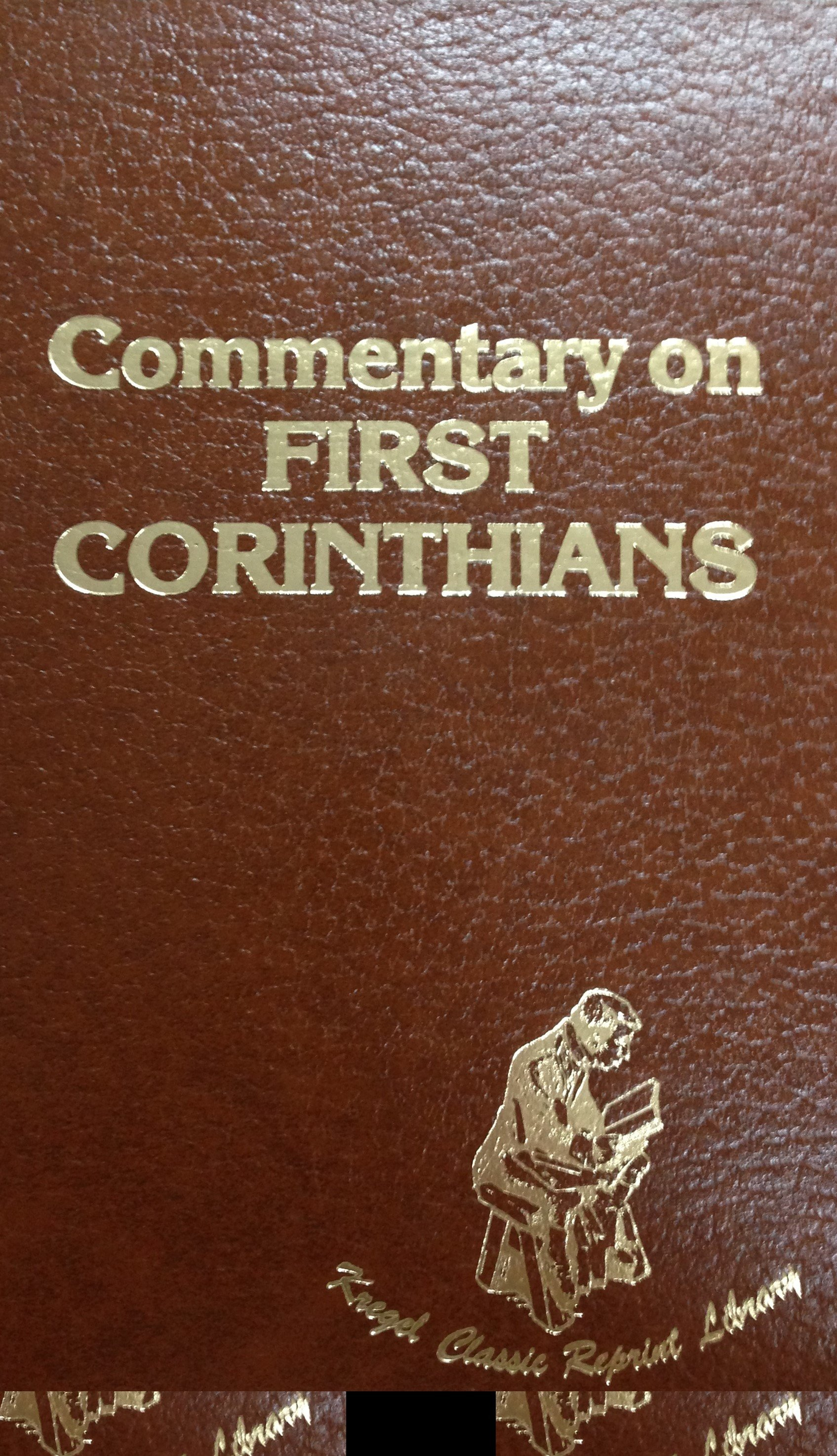 Commentary on First Corinthians by Frederic Louis Godet 00088