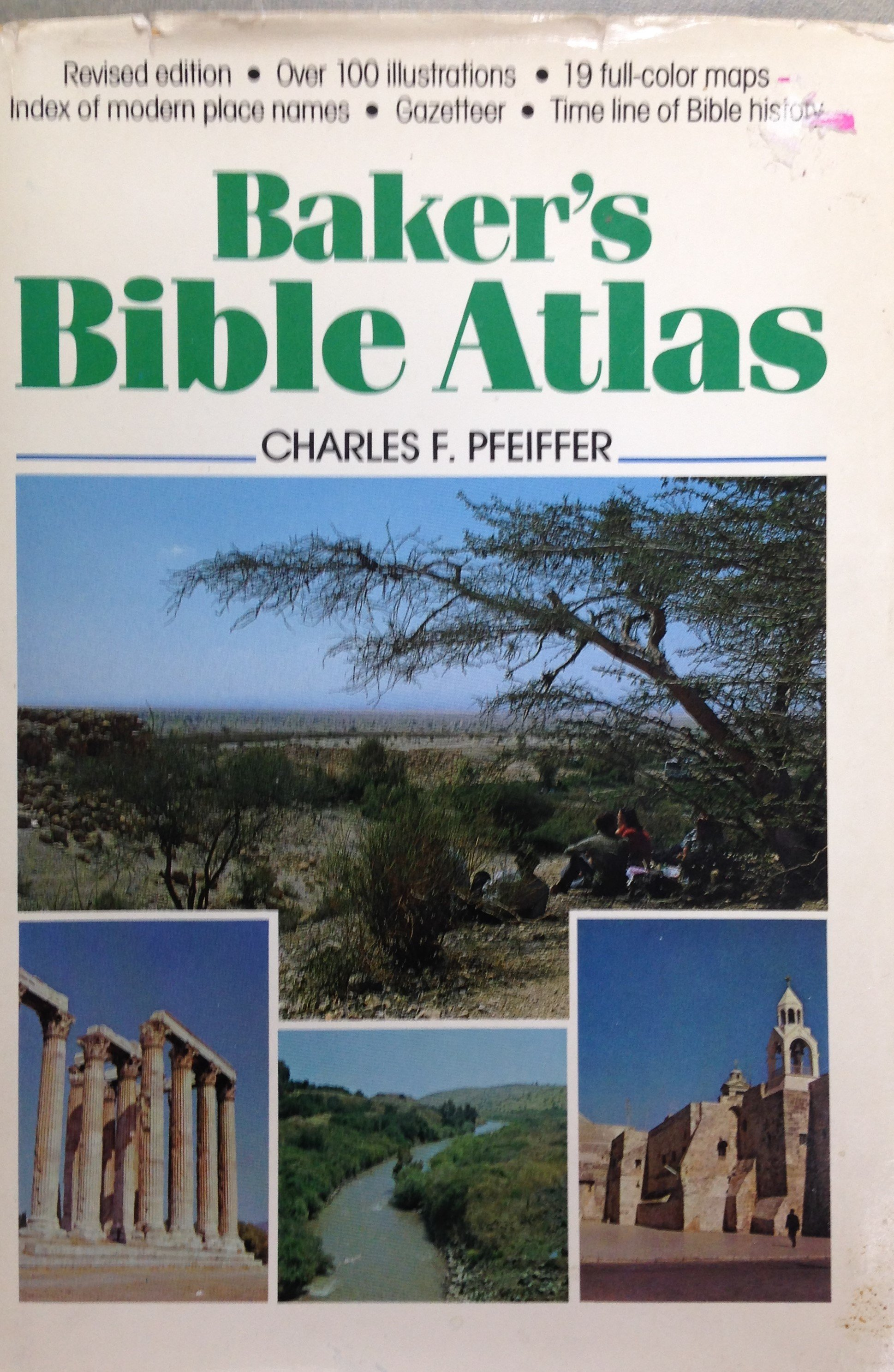 Baker's Bible Atlas by Charles F. Pfeiffer  (USED) 00092