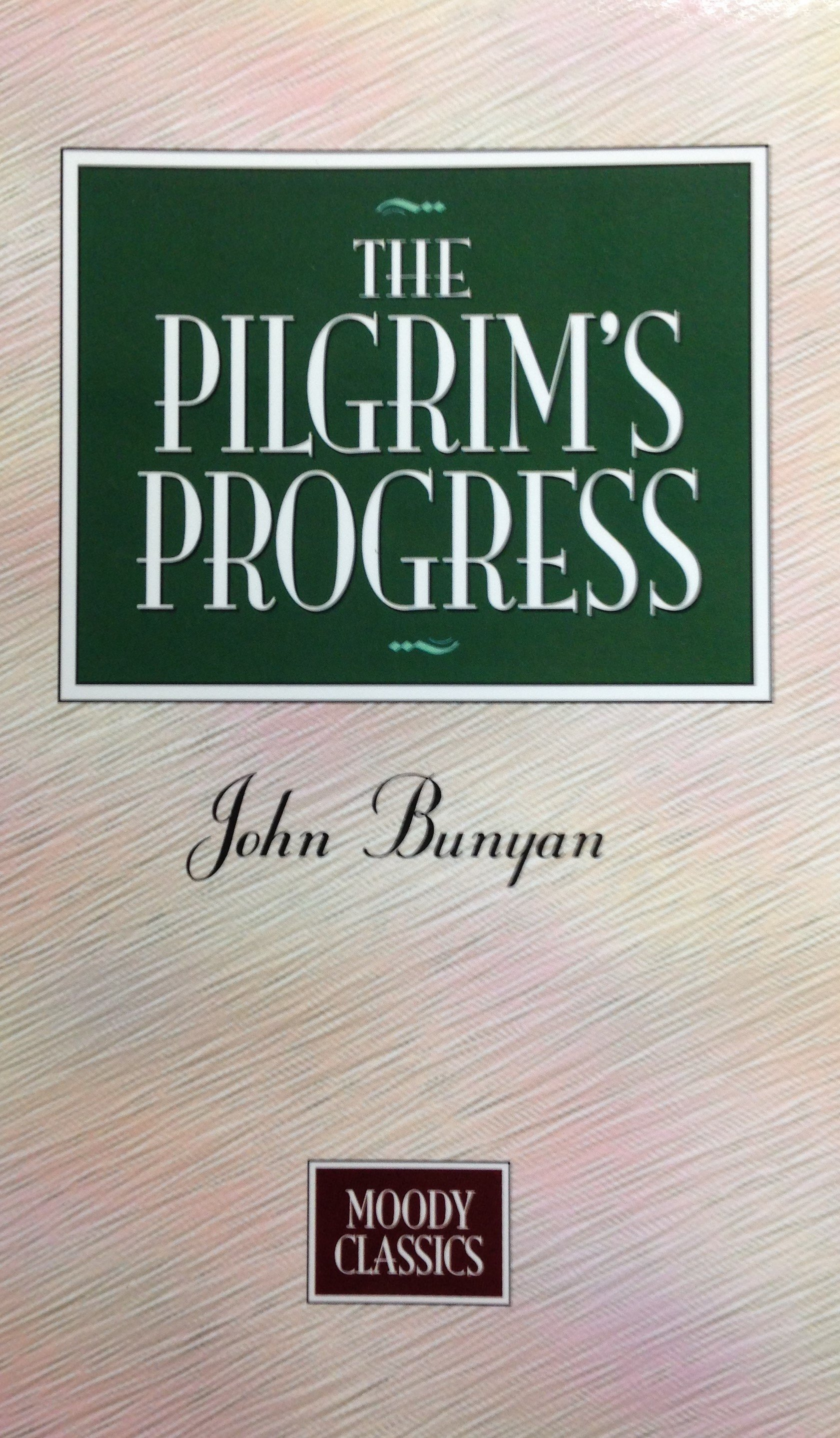The Pilgrim's Progress by John Bunyan (Small paperback) 00093