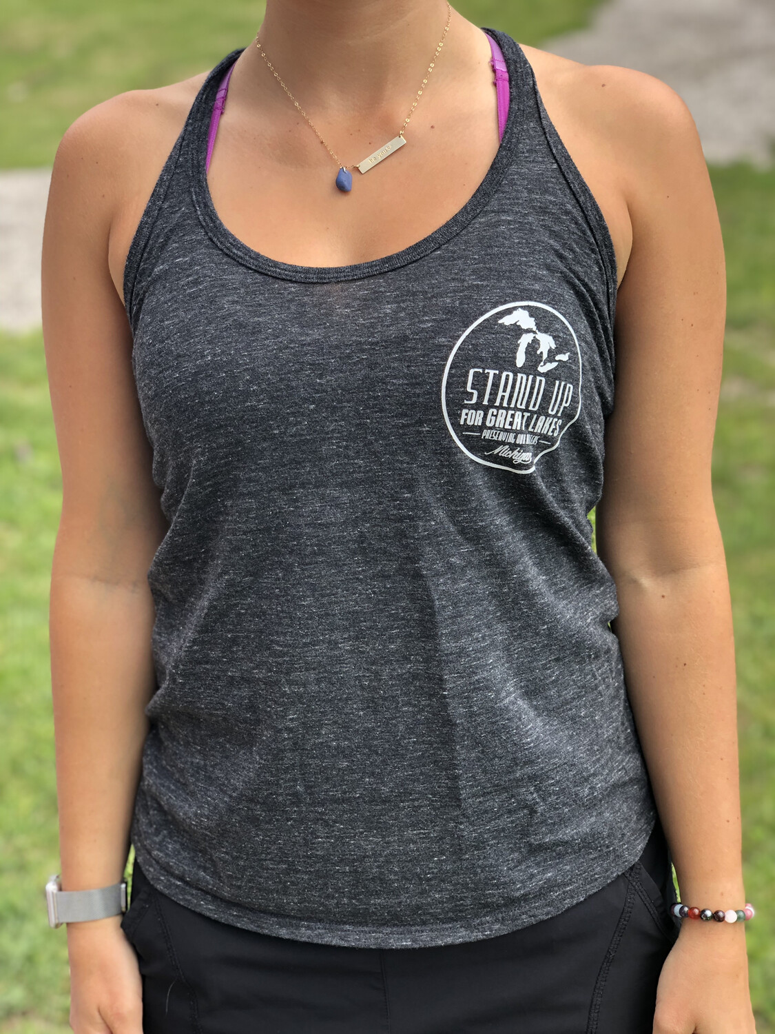 Black WOMENS Tank Top