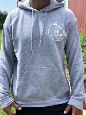 Heather Grey Hoodie Sweatshirt