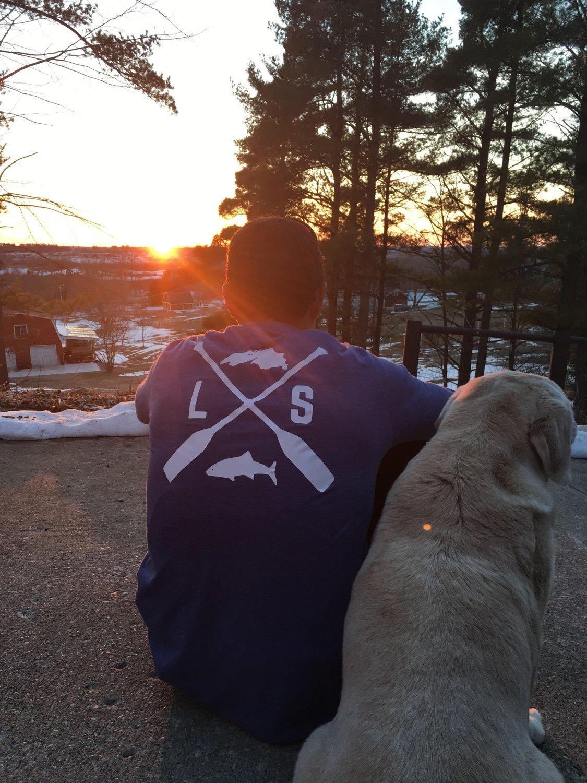 Limited Edition Lake Superior Blue LONG SLEEVE