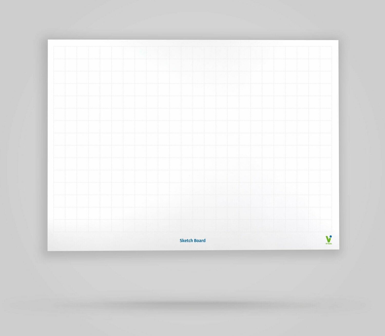 Sketch Board - Whiteboard Poster