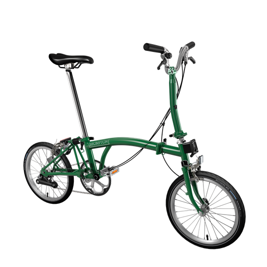 Brompton color verde ingles 42043