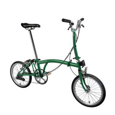 Brompton color verde ingles