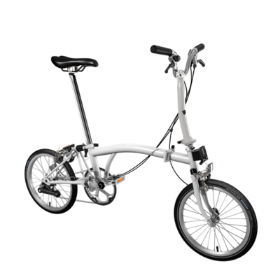 Brompton color blanco