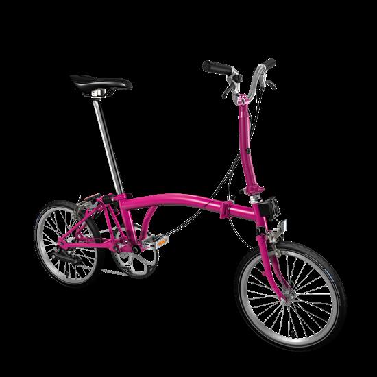 Brompton color hot pink 42046