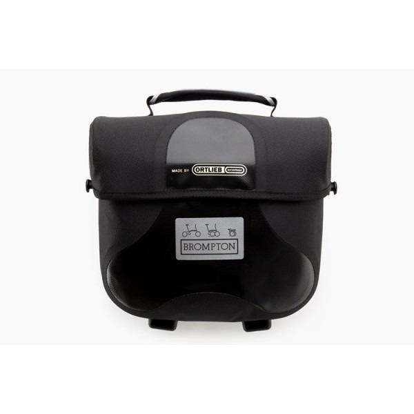 Brompton - Maletín Mini O Bag negro reflectante QMOB-BK
