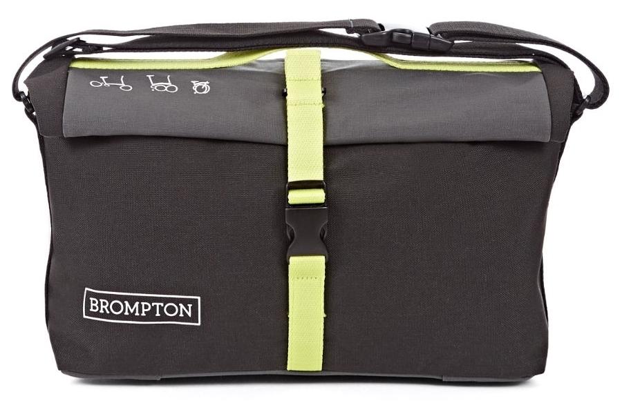 Brompton - Roll Top Gris / Negro