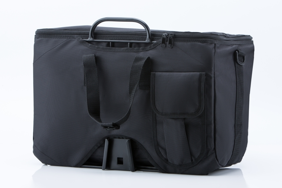 Bolsa Valeria con asas, negra
