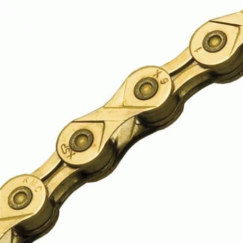 Cadena X9L Oro