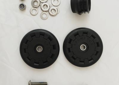 Brompton - Par rueditas Eazy Wheel (diámetro interior 6mm)