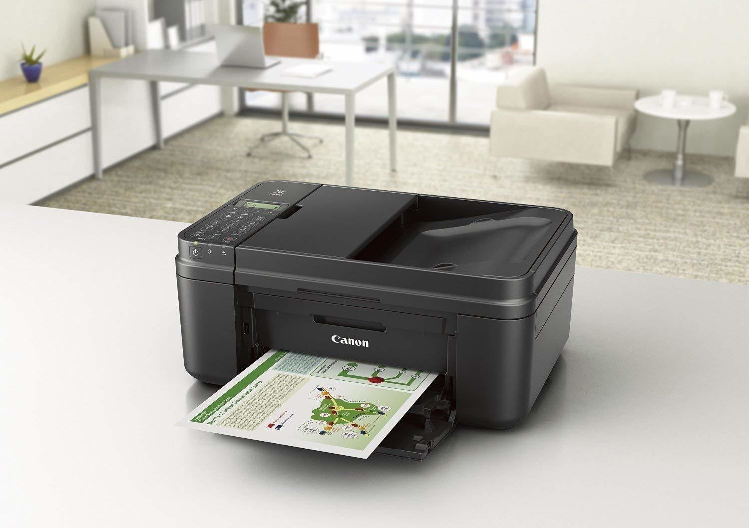 Canon PIXMA MX490 Wireless Office All-in-One Inkjet Printer/Copier/Scanner/Fax Machine