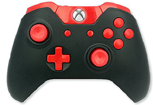 ModsRus 10,000 Mode Marksman Mod Controllers Xbox One Red Out
