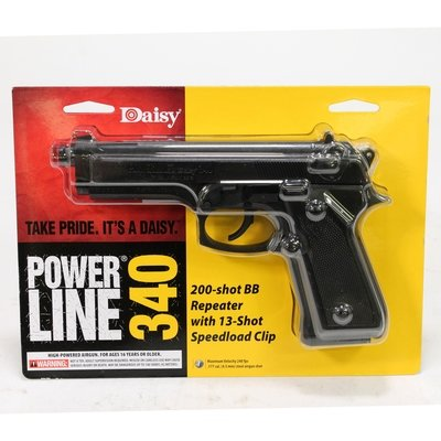 Daisy Powerline 340 BB Repeater Spring Air Pistol