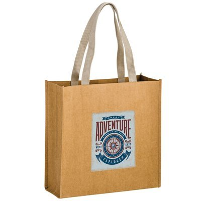 Washable Paper Bags - FULL COLOR IMPRINT. As low as $6.50 each.