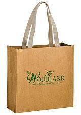 Washable Paper Bags - ONE COLOR IMPRINT. As low as $5.99 each.