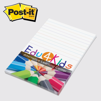 3M Full Color Post-it® Note Pads. 4