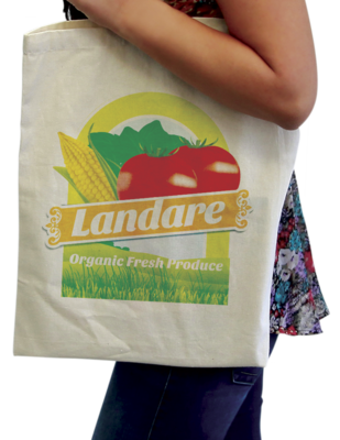 Full Color Printed Tote Bags. As low as $4.55 each.