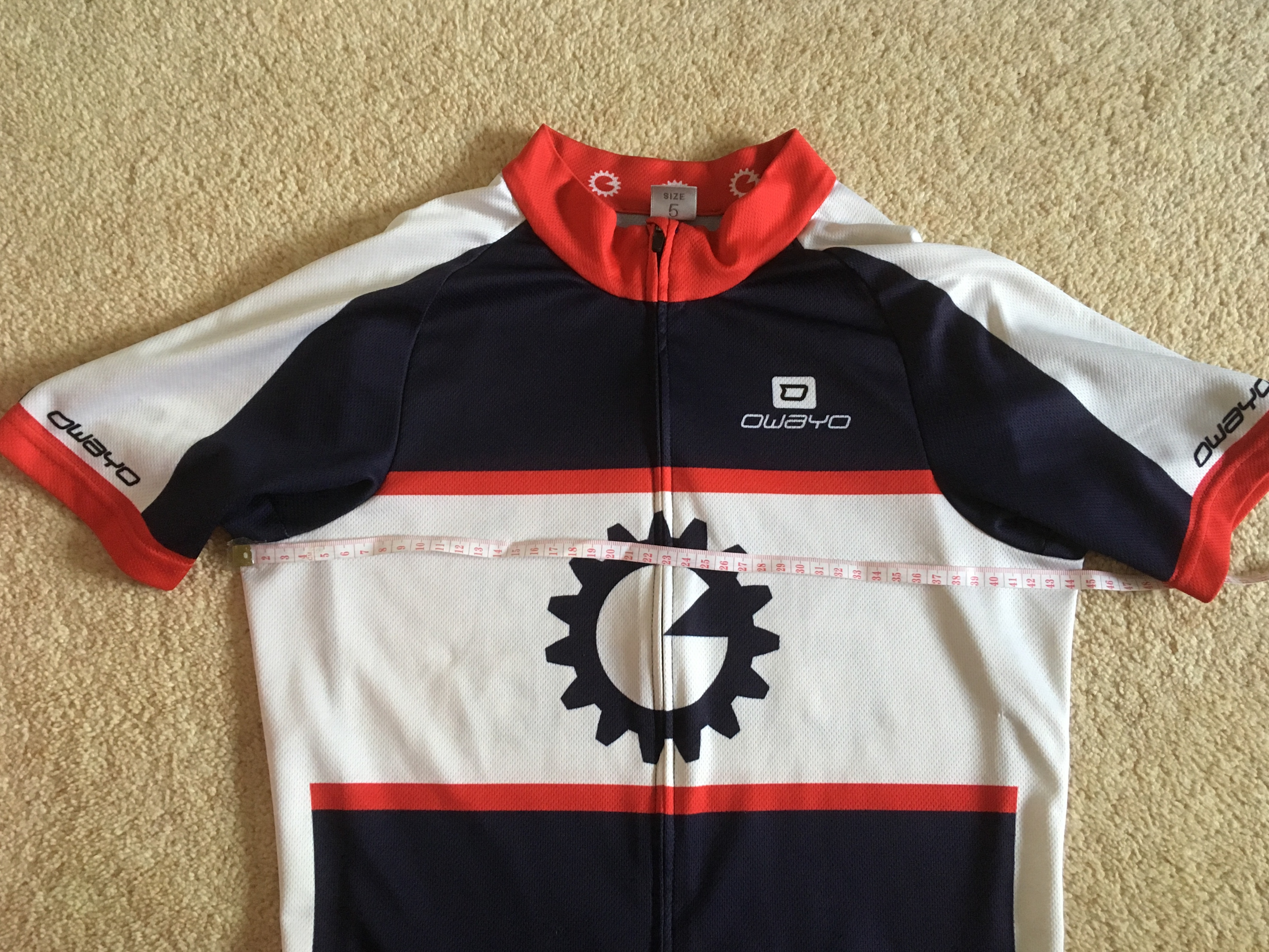 Pre order (by 07.04.19) Unisex Cycle Jersey -Navy/Red