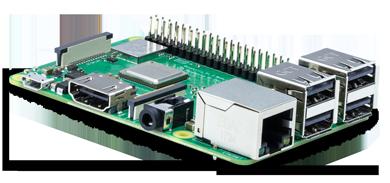 Микрокомпьютер Raspberry Pi 3 Model B+ на базе Broadcom BCM2837B0, Wi-Fi, Bluetooth