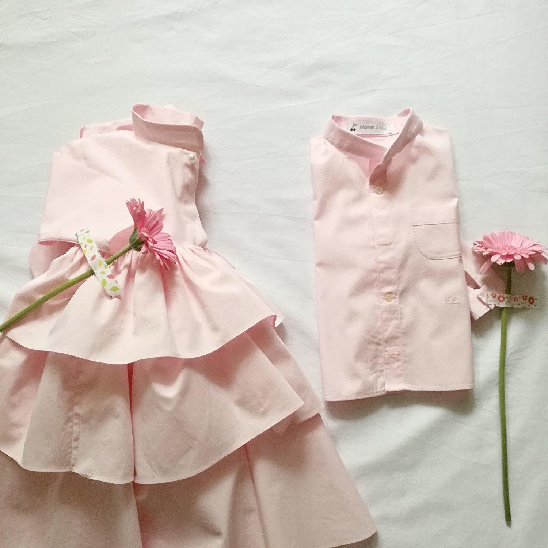 """""""Camicia bambino, con colletto alla coreana """""""