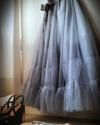 Gonna in tulle Nuage