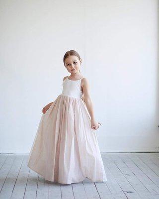Rosè abito bambina