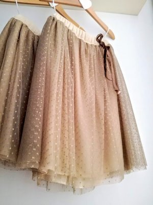 pluie gonna in tulle bambina