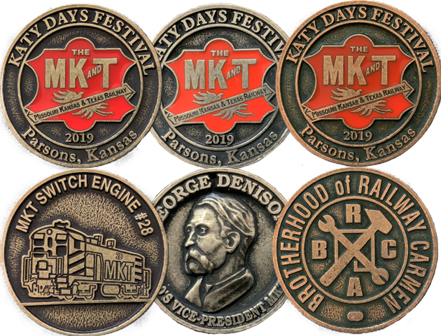 2019 Katy Days Collectors Coin Set