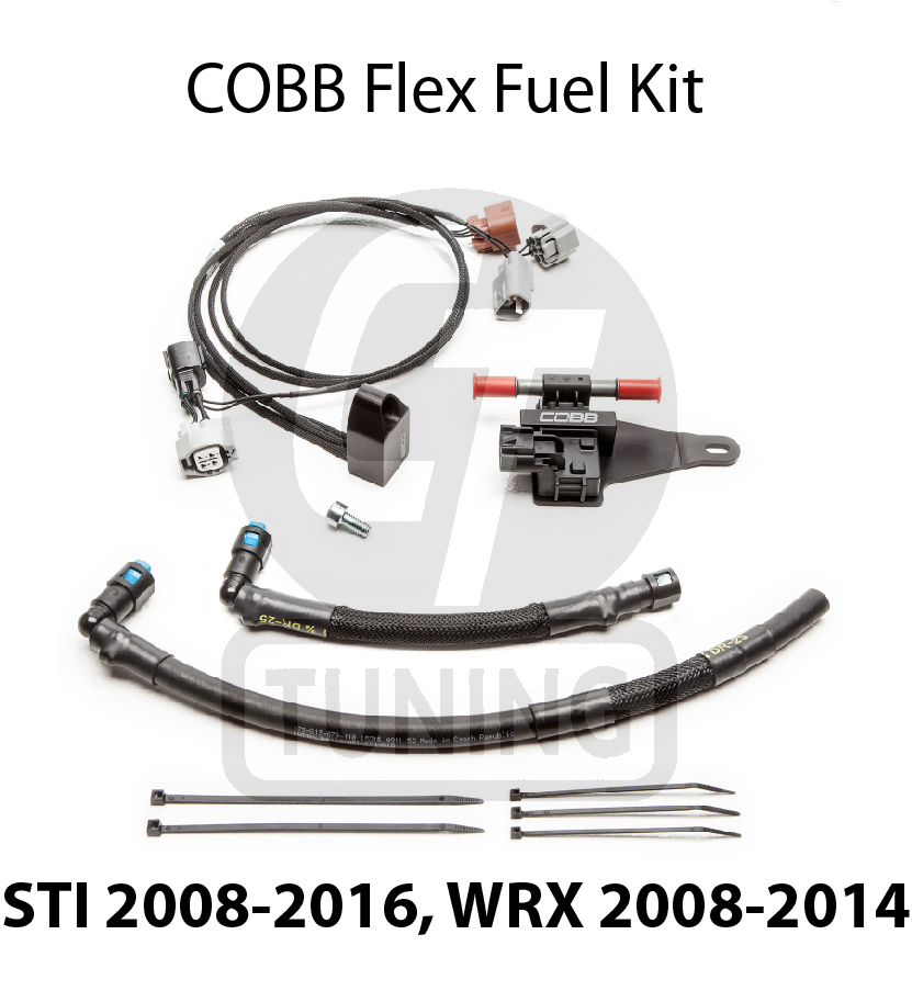 FLEX FUEL ETHANOL SENSOR KIT - STI 2008-2016, WRX 2008-2014, FXT 05-08, LGT 05 to 12
