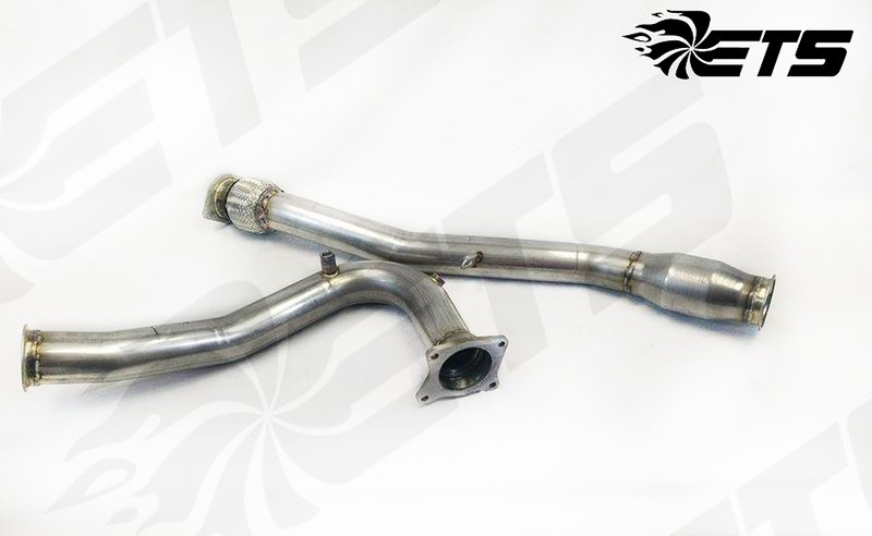 ETS 2015-2016 Subaru WRX High Flow Cat Down Pipe