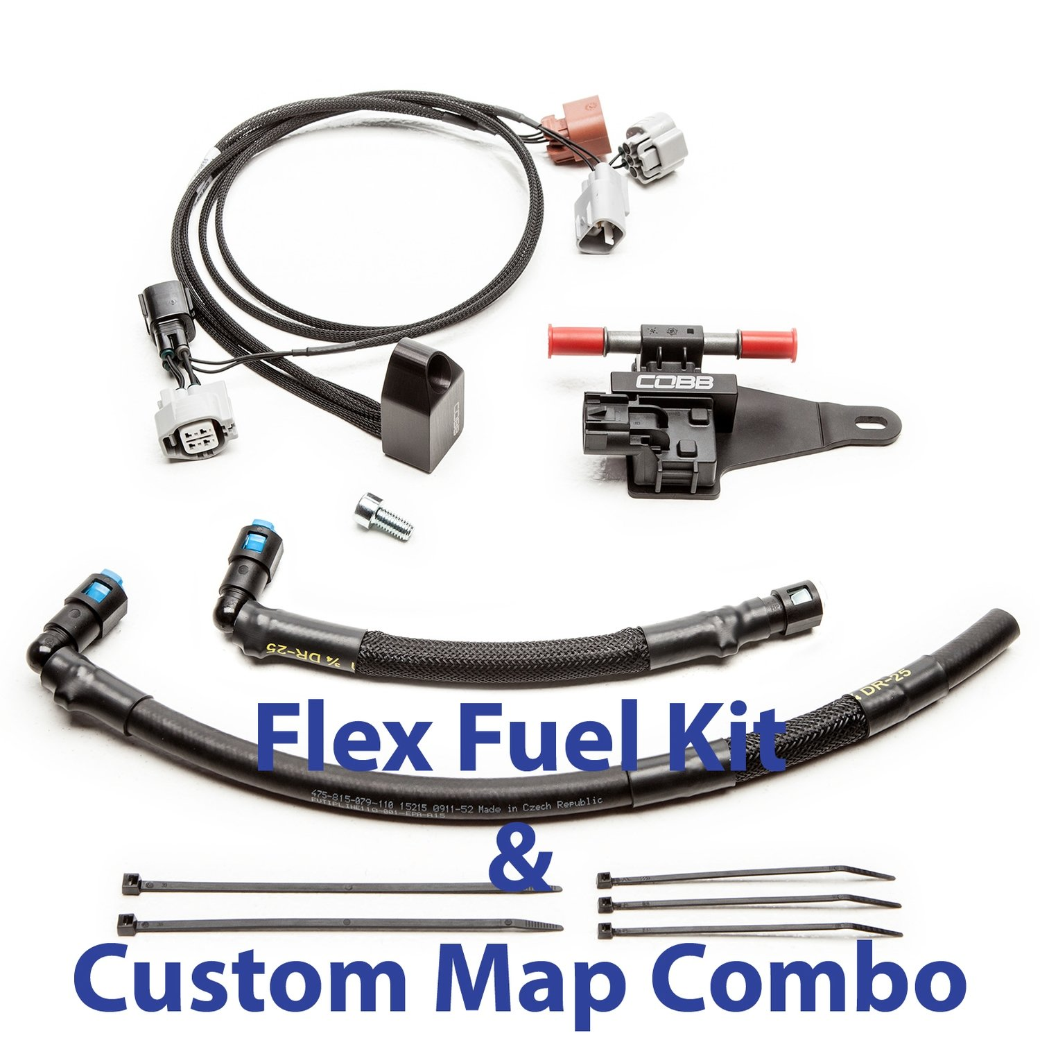 Flex Fuel Kit With Fuel pressure sensor & Custom ProTune Map  STI 2008-2016, WRX 2006-2014, FXT 05-08, LGT 05 to 12