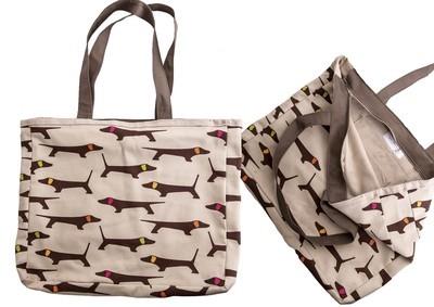 Fabric Shopper Bag