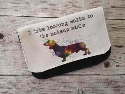 ​Make-Up Bag - I like Loooong Walks to the Make-up Aisle