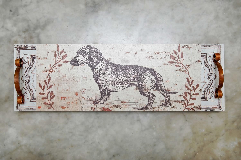 Platter/Trays - Long Platter - Sketch of Dachshund