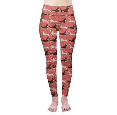 ​Dachshund Print Leggings - Design 2