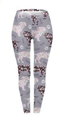 Dachshund Print Leggings - Design 4