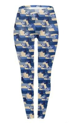 ​Dachshund Print Leggings - Design 8