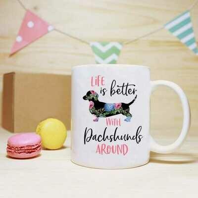 Life is Better Mug