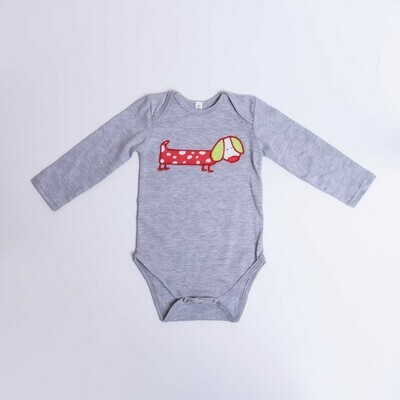 ​Dachshund Baby Vest – Long  Sleeve – Cool Dog 7