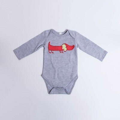 ​Dachshund Baby Vest – Long Sleeve – Cool Dog 9