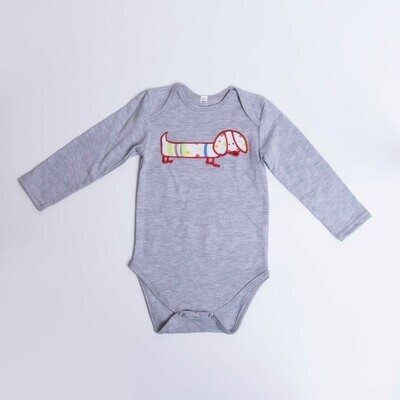 ​Dachshund Baby Vest – Long Sleeve – Cool Dog 8