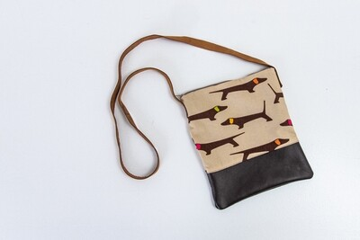 Sling Bag - Brown & Beige - COMING SOON