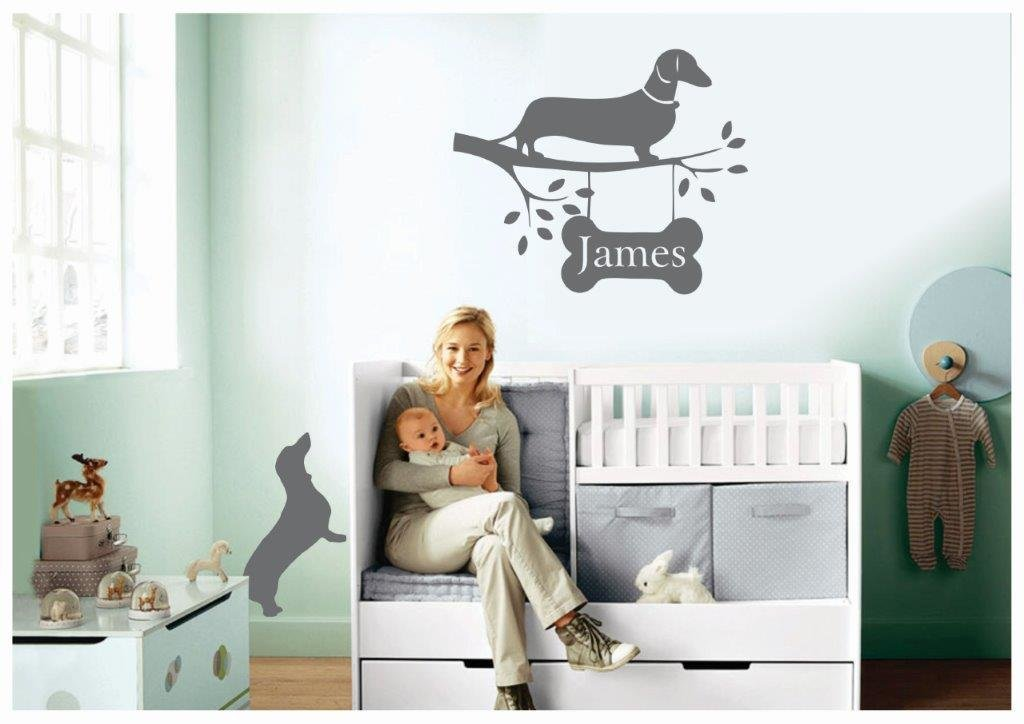 Wall Decal - Name for Above Babies Cot