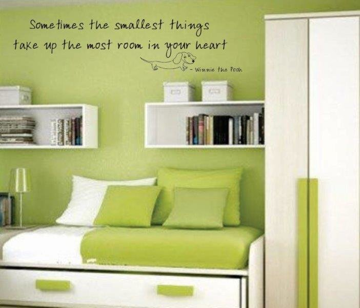 Wall Decal - Sometimes the Smallest Things 2