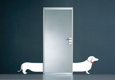 Wall Decal – Split Sausage Dog